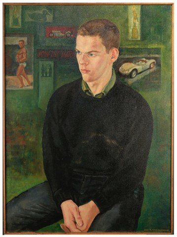 Portrait of a Young Man by William A. Van Duzer