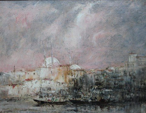 Constantinople by Edouard-Jacques Dufeu