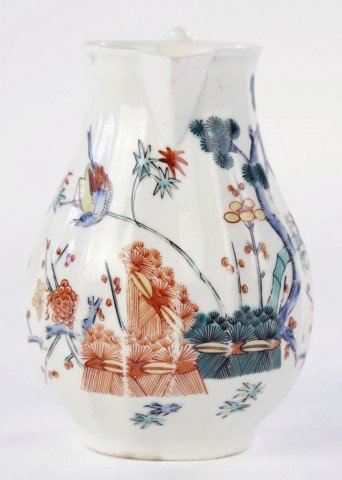 Worcester Kakiemon Pattern Cream Jug by 18th Century British School