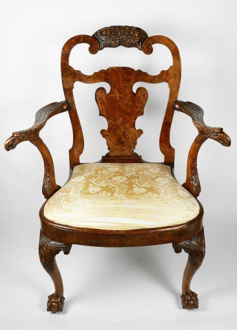 Fine 18thc. English Armchair  by 18th Century British School
