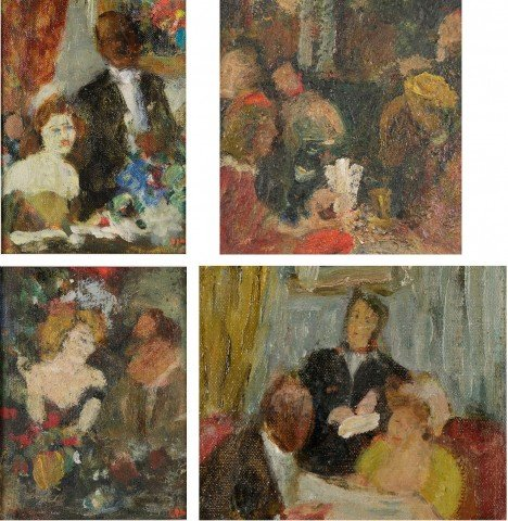 Four Scenes from a French Restaurant by Gabriel Spat
