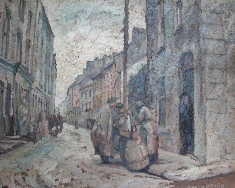 The Curb Market, Galway by Grace Veronica Kelly