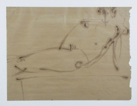 Abstract Figurative Drawing:
