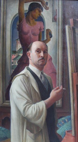 Self Portrait by Rolf Stoll
