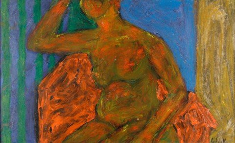 Seated Nude by William Schock