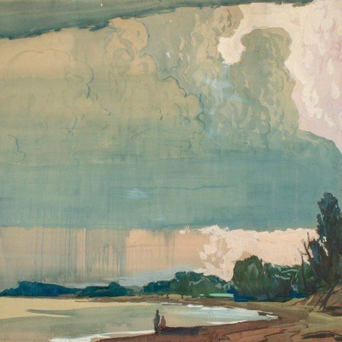 Approaching Storm at Lake Erie by Frank Nelson Wilcox
