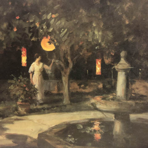 Evening in the Park by Howard Russell Butler