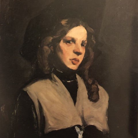 Portrait of a Young Girl by Robert Henri
