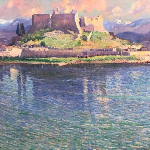 Fort Carré d'Antibes by Abel G. Warshawsky