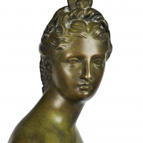Diana the Huntress by After Jean-Antoine Houdon