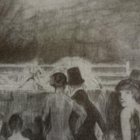 The Preliminaries by George Bellows