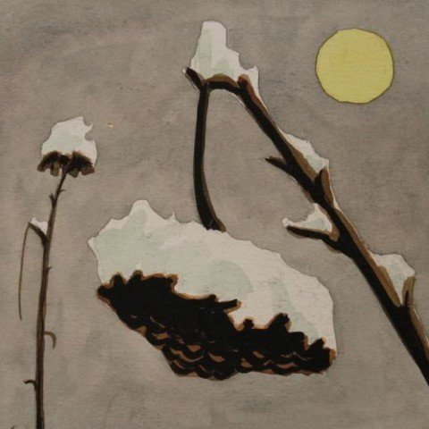 Winter Sunflower by Clarence Holbrook Carter
