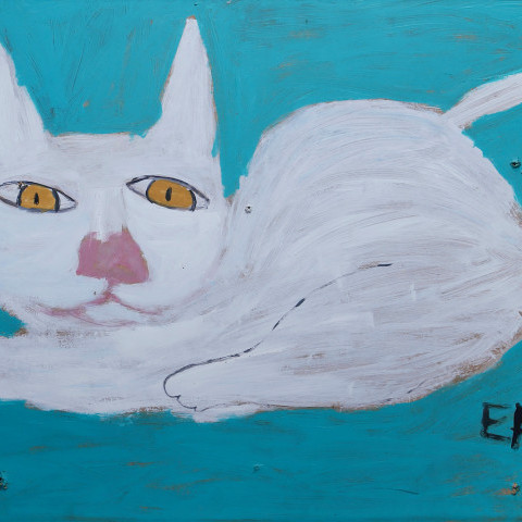 White Cat by Earl Swanigan