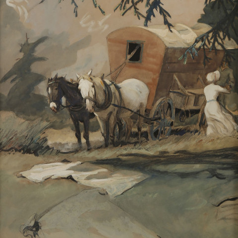 Heading West by Henry George Keller