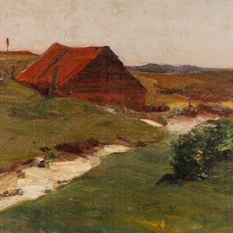 Near Maassluis by Henry George Keller