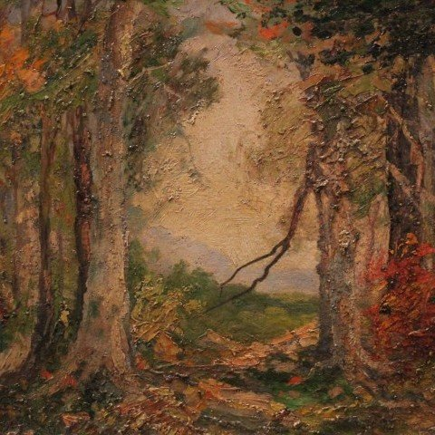 Forest in Autumn by May Lydia Ames