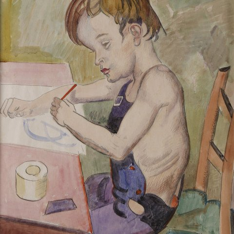 The Little Artist by William Sommer