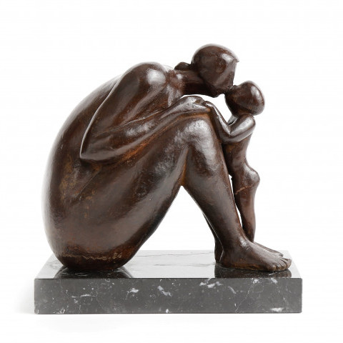 Mother and Child by Susan Luppino
