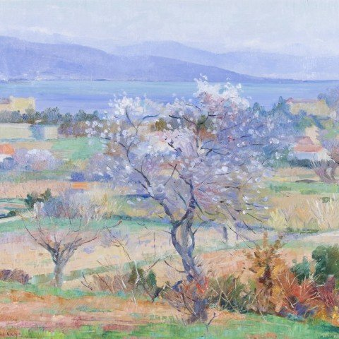 Springtime in the French Countryside by Abel G. Warshawsky