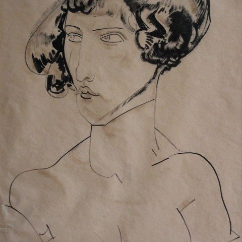 Portrait of a Woman by William Sommer