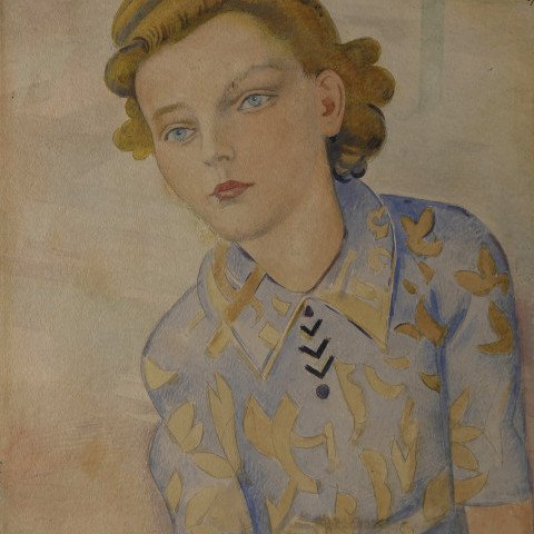 Teenage Girl by William Sommer
