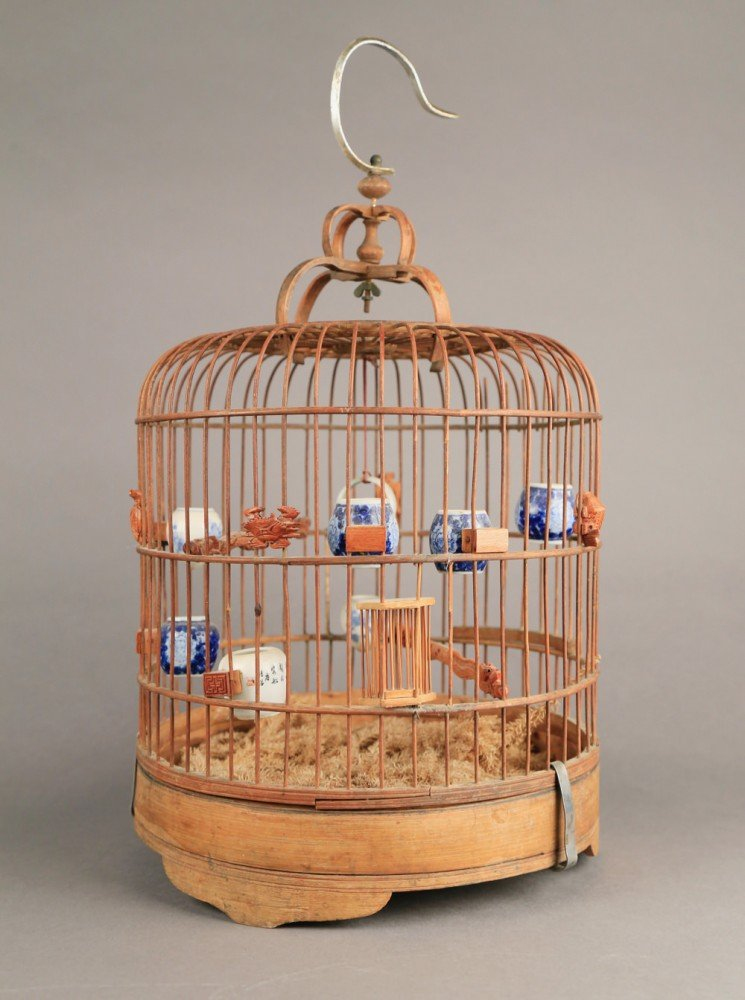 A Chinese Bird Cage, late 19th/20thc.