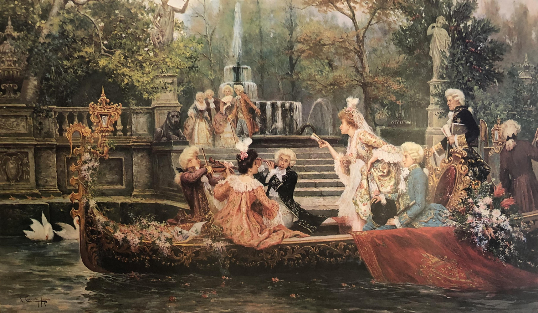 An Afternoon Idyll by Lorenzo Cecconi