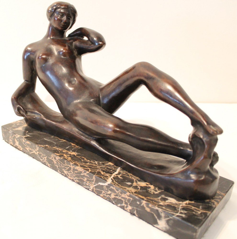 Reclining Nude by After Aristide Maillol