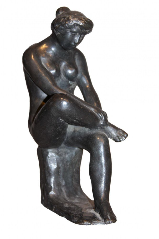 Seated Nude by After Aristide Maillol