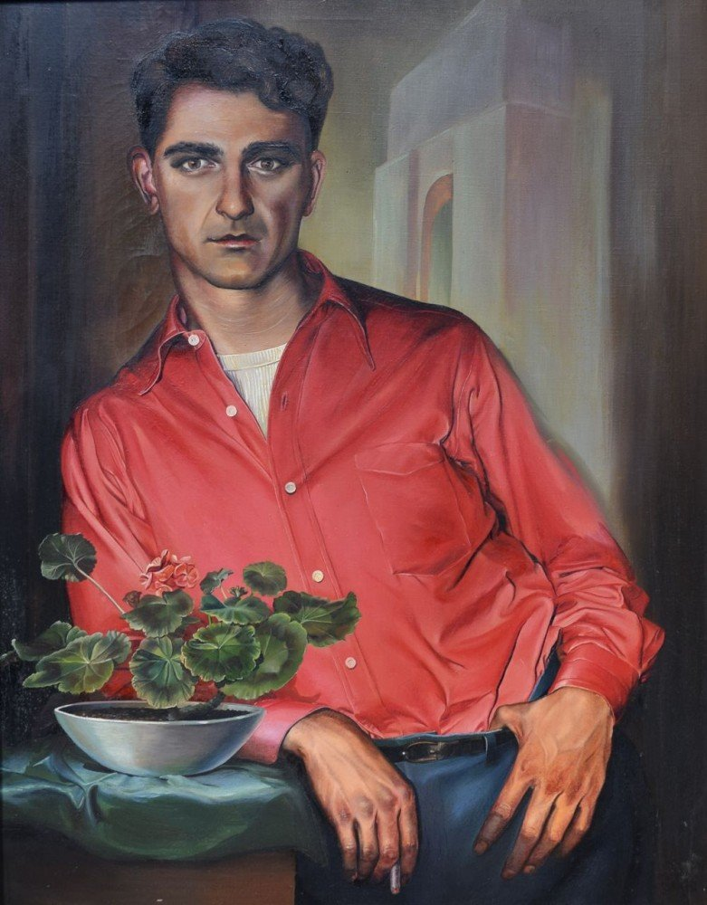 Portrait of a Young Man by Ruth Bellitto