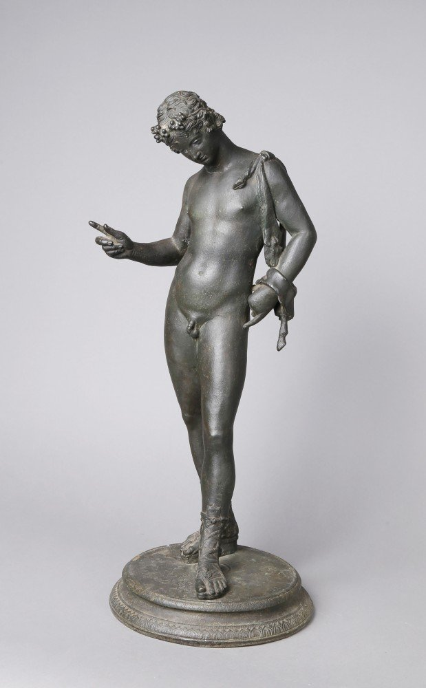 Bronze with Black-Green Patination Sculpture: