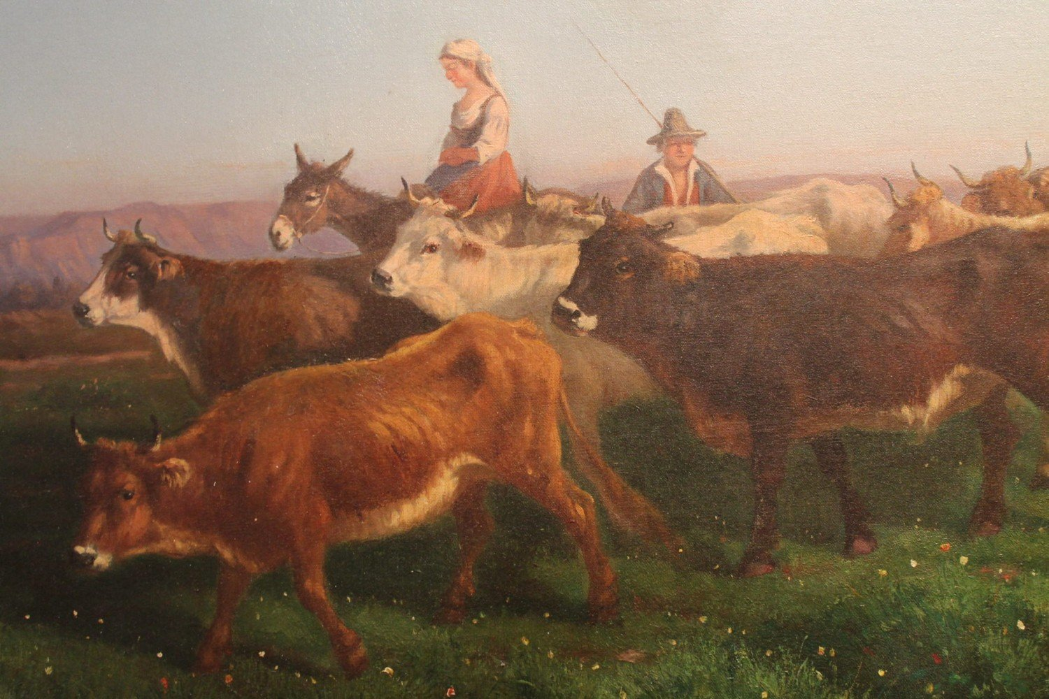 Rustic Cowherds by C.Giacomucci