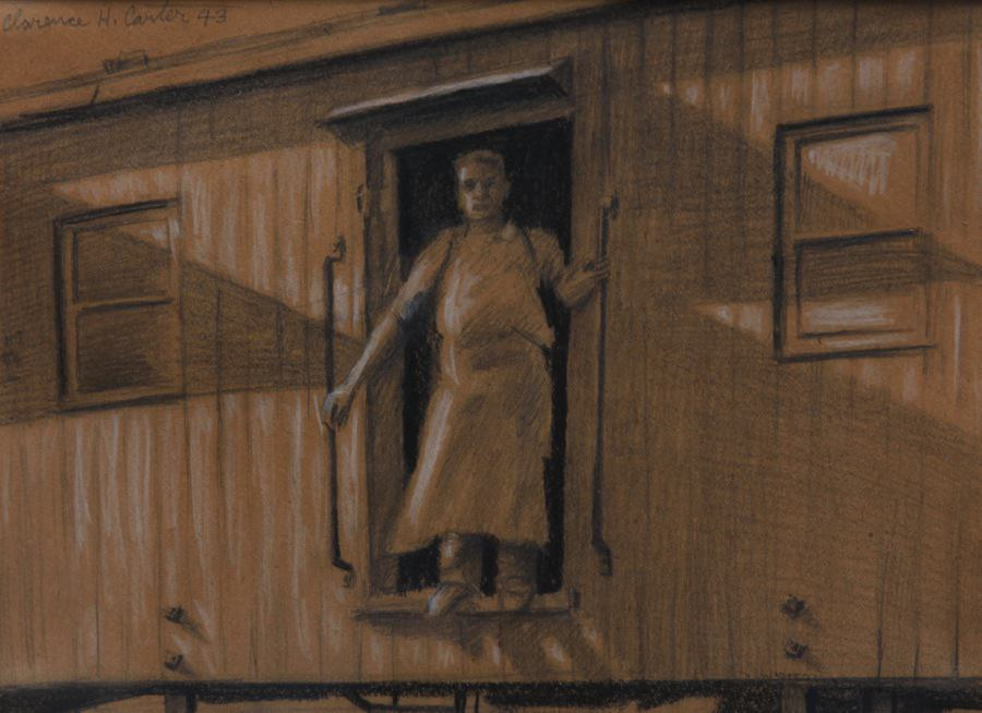 Box Car by Clarence Holbrook Carter