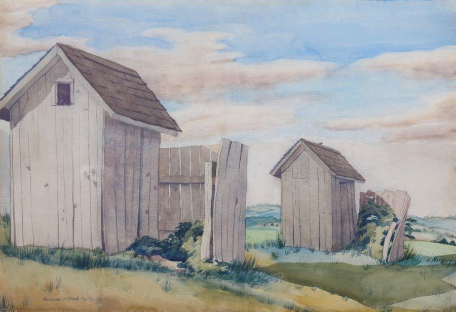 Chemung Valley, New York by Clarence Holbrook Carter