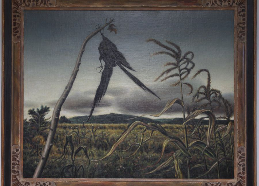Crow Scarecrow by Clarence Holbrook Carter