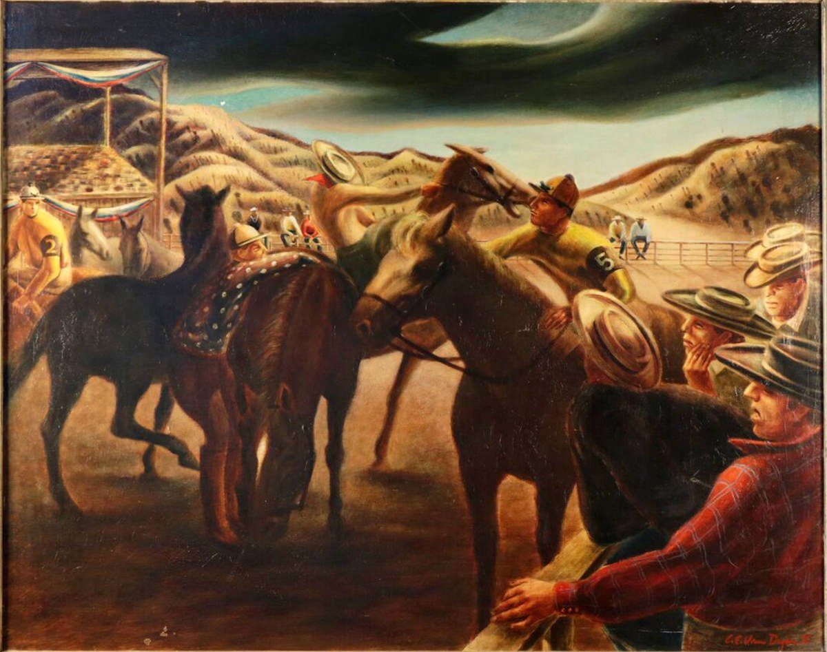 Before The Race by Clarence Van Duzer