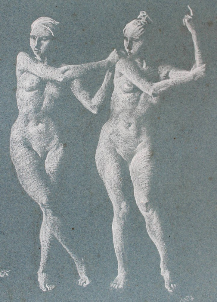 Maera, Clymene, and Eriphyle by Sir William Russell Flint