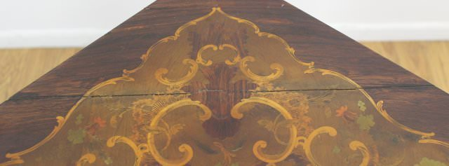 Louis XV Style Bronze Mounted Marquetry Encoignure by 19th Century French School