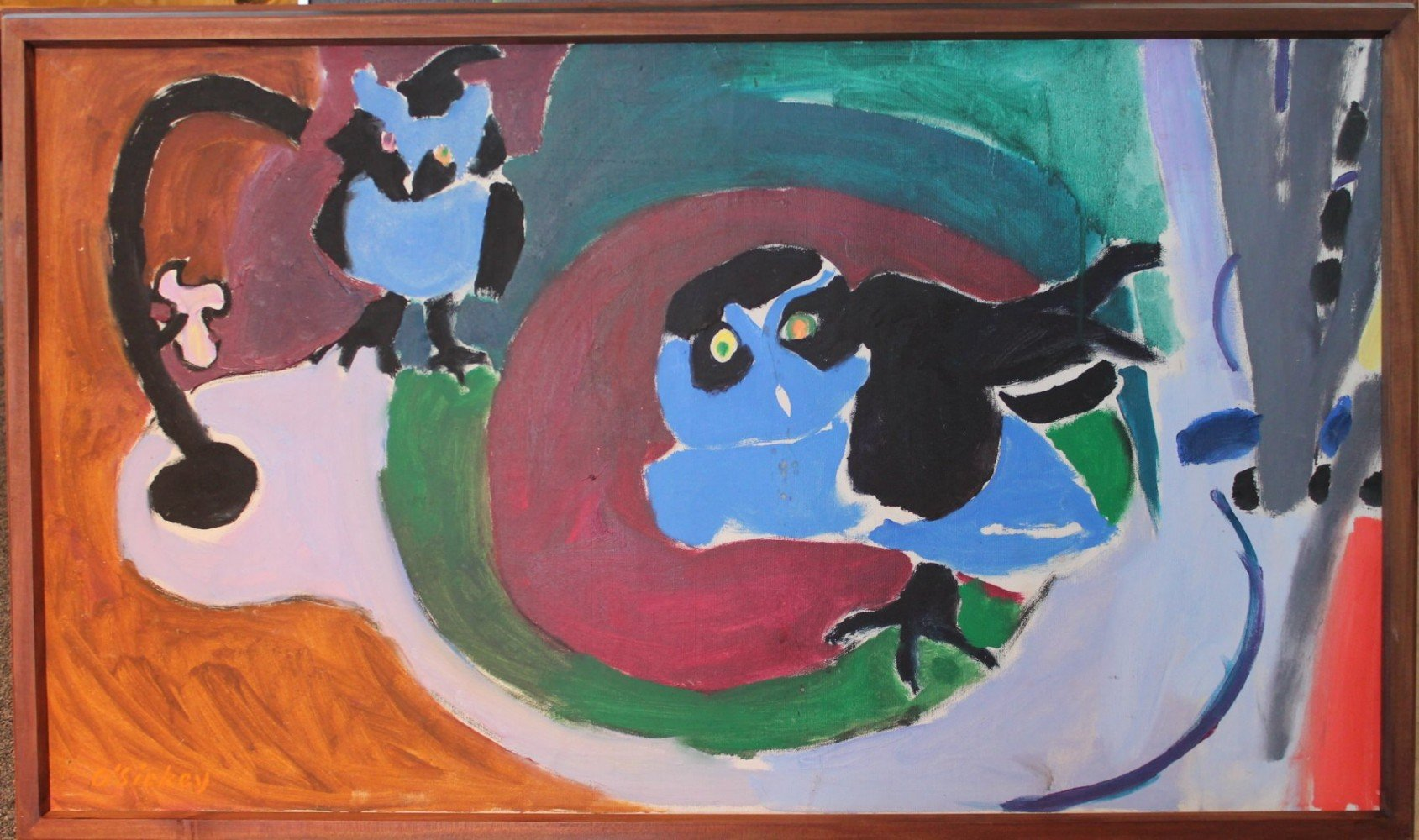Spectacle Owls at the Zoo by Joseph Benjamin O'Sickey
