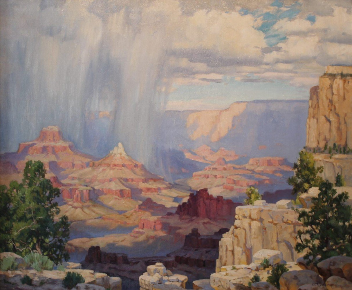 Grand Canyon by Karl C. Brandner