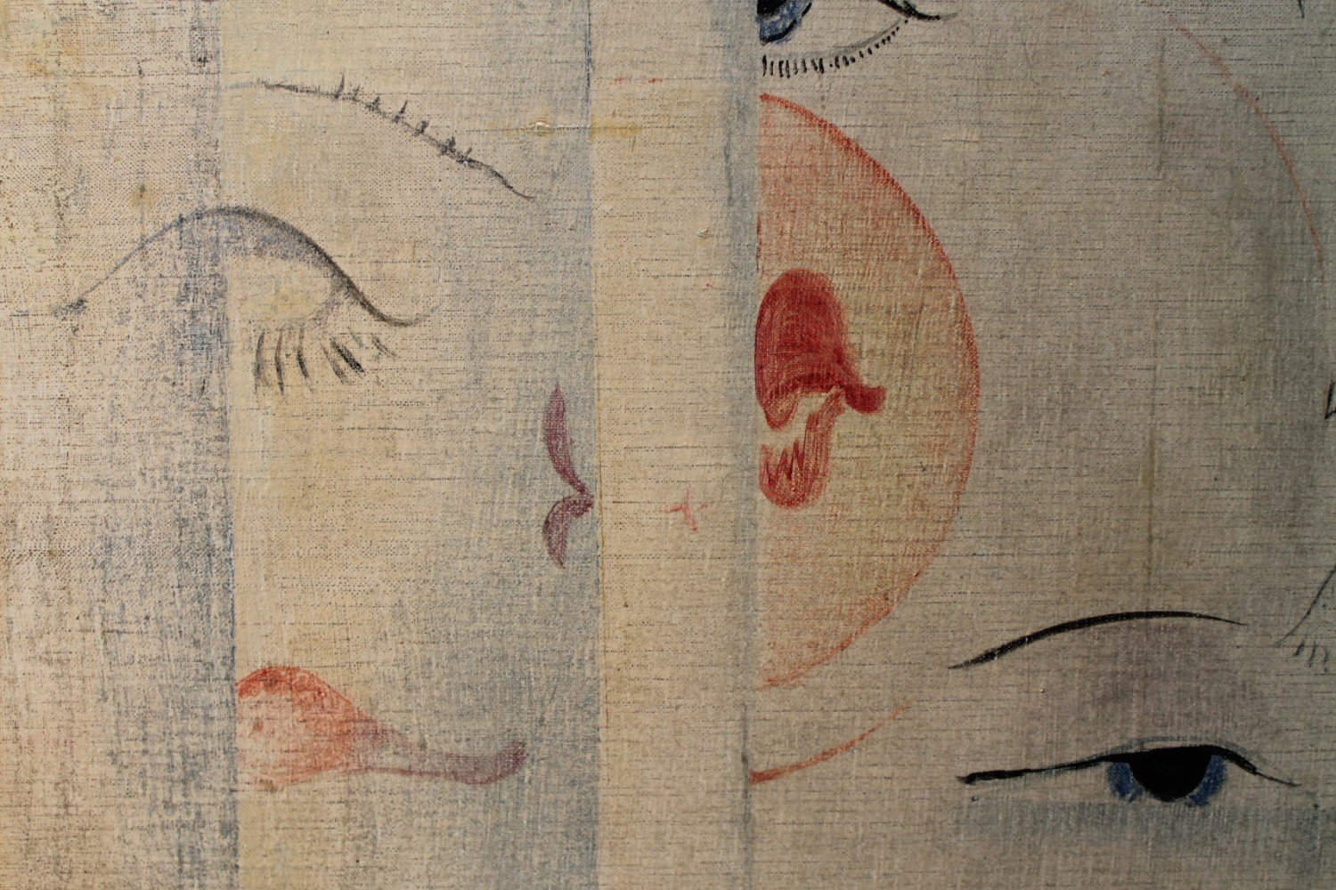 Surrealist Eyes and Lips by Lawrence Murphy