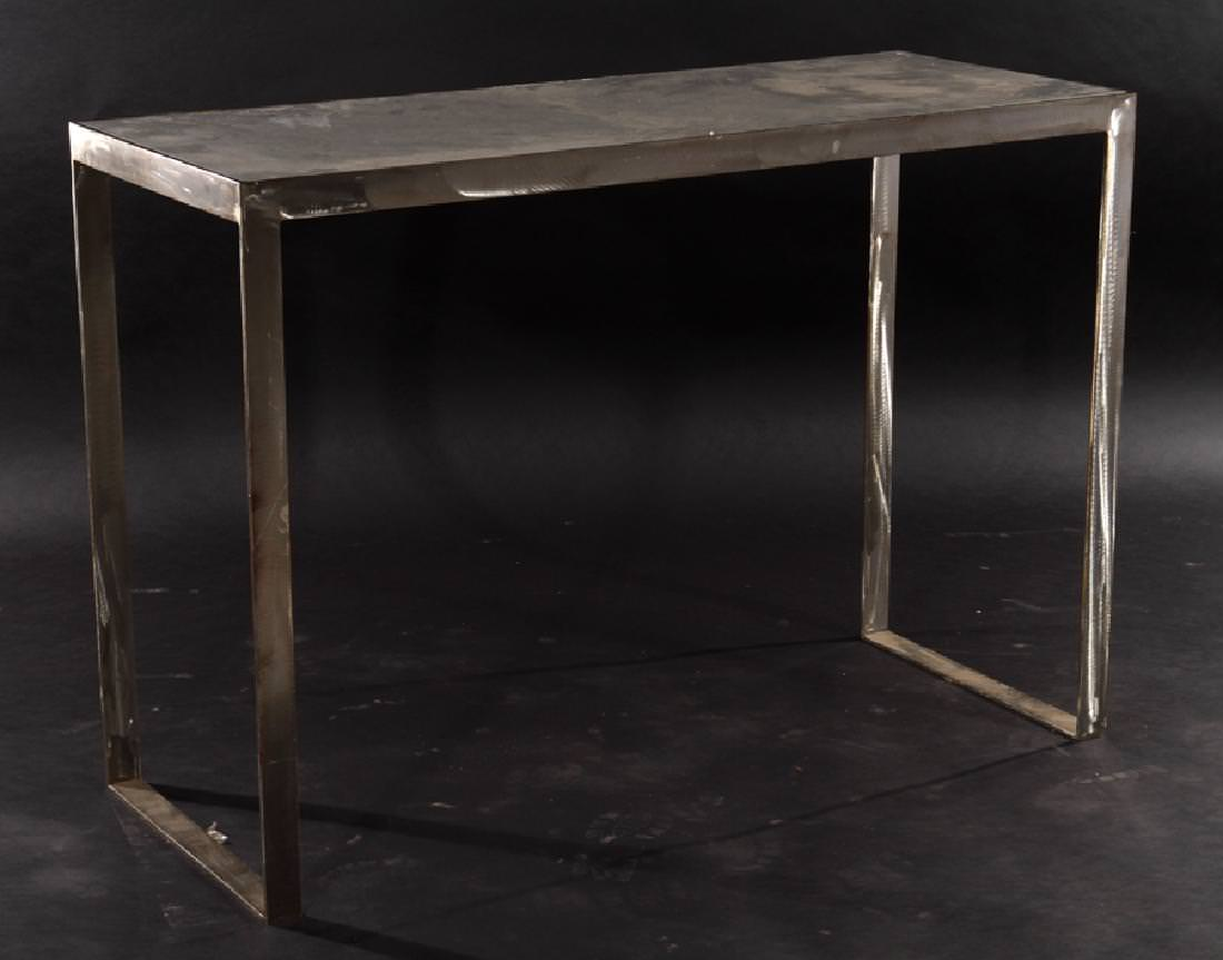Marble and Steel Table