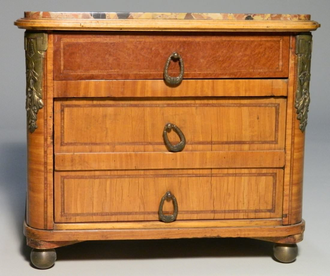 Miniature Humidor in the style of a late 18thc. French commode
