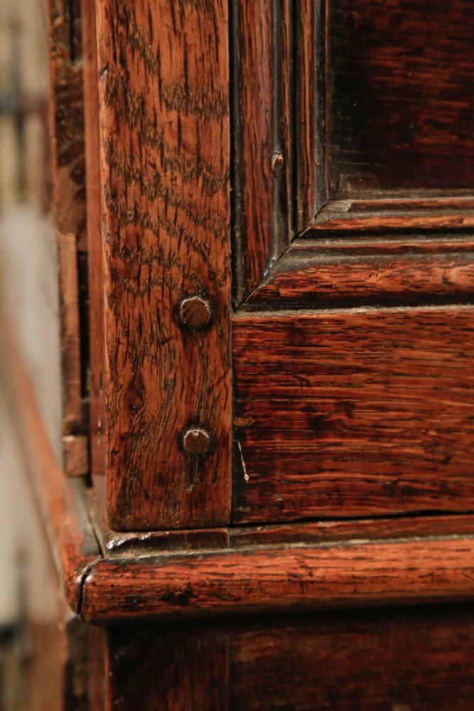English Oak Chest of drawers, 17thc.
