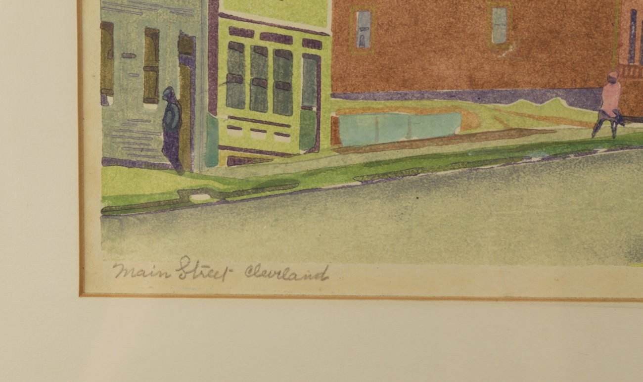 Main Street Cleveland by Ora Coltman