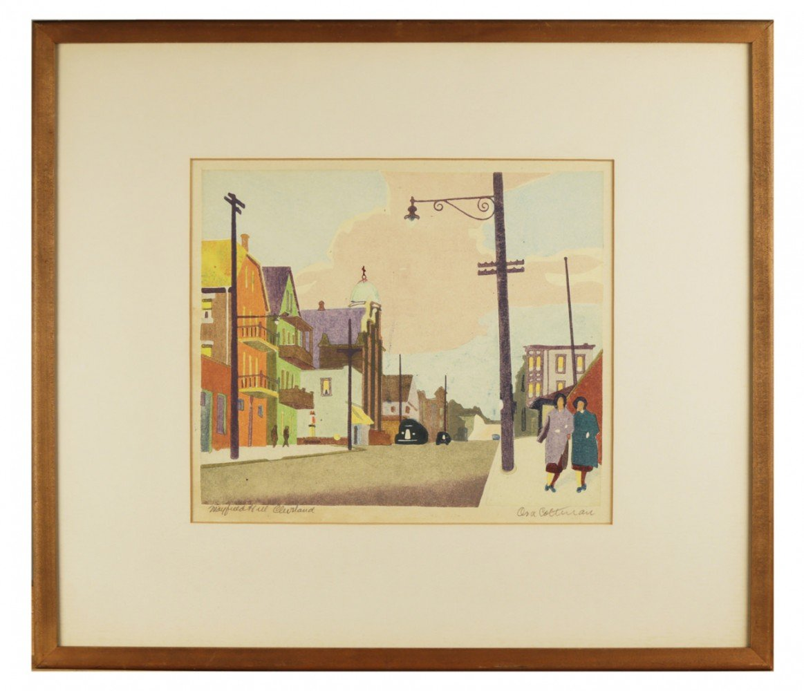 Mayfield Hill Cleveland by Ora Coltman