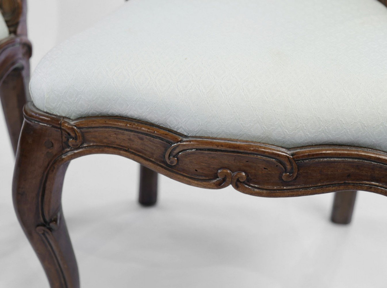 Pair of 18th Century French Walnut Side Chairs