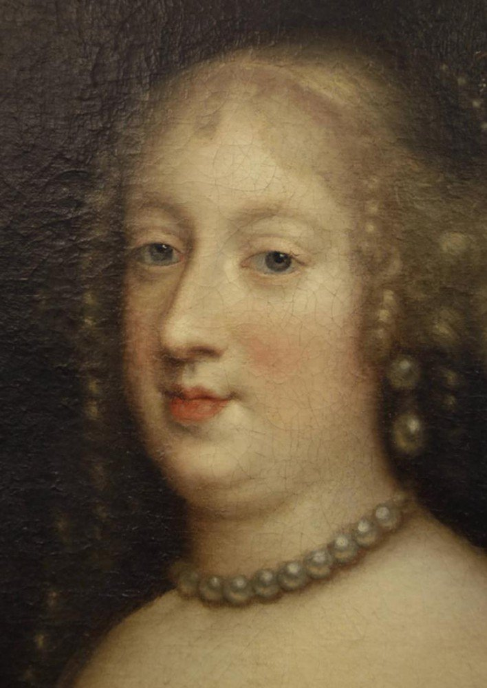 Portrait of Marie Therese of Austria by Charles Beaubrun