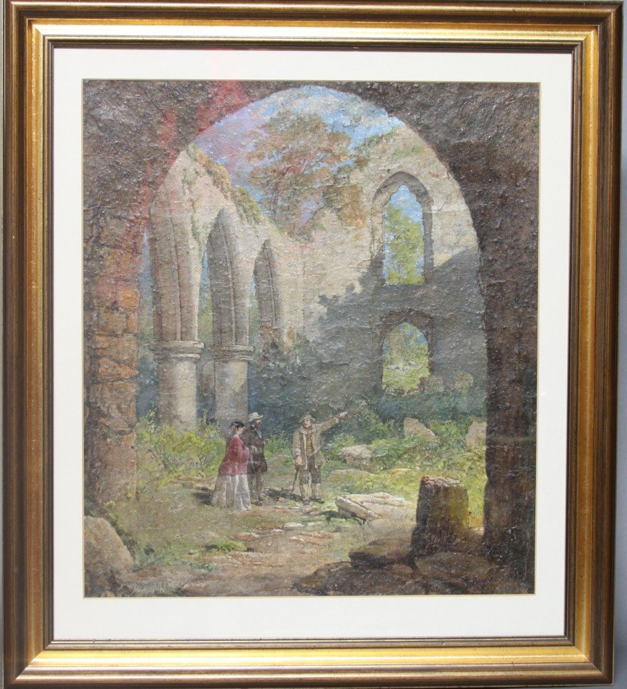 Tour of a Ruined Cathedral by Samuel Rayner