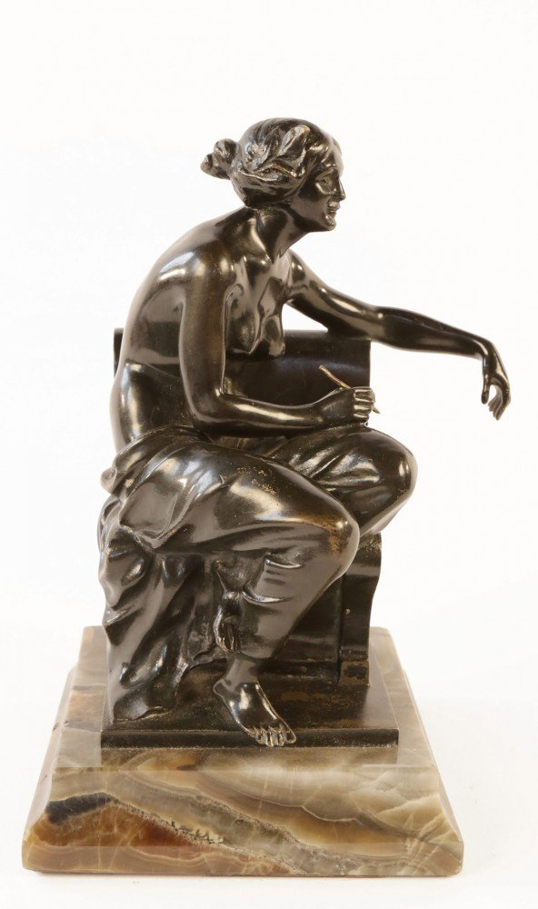 Allegory of Poetry by Theodore Ullman